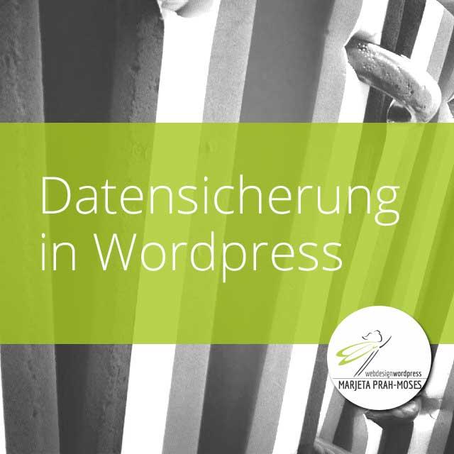 Datensicherung in WordPress