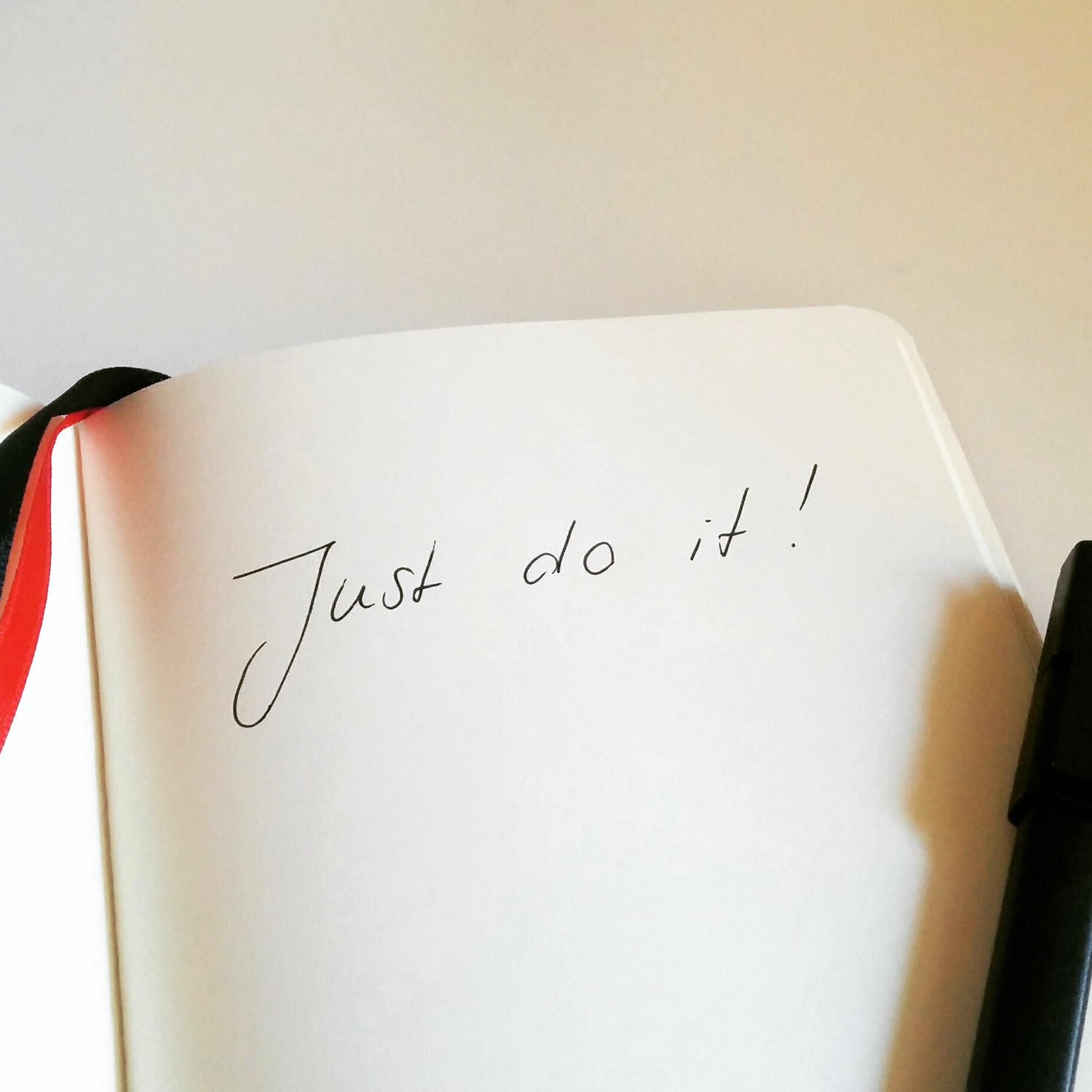Just do it! 10 Tipps für Blogger und sollche die es werden wollen