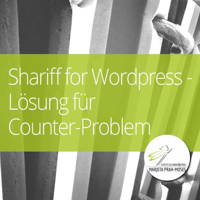 Shariff for WordPress – Lösung für Counter-Problem