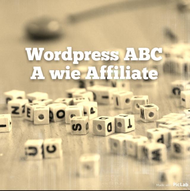 Wordpress Affiliate