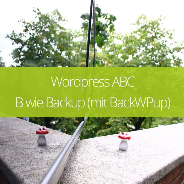 B wie Backup – DB und Dateien Sicherung mit dem BackWPup Plugin