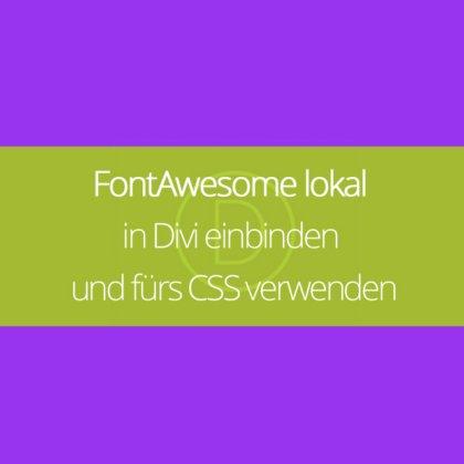 Divi tricks archive webdesign wordpress marjeta prah - Divi font awesome ...