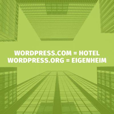 Für WordPress-Einsteiger: Eigener WordPress-Blog unter wordpress.com oder selbst gehostet?